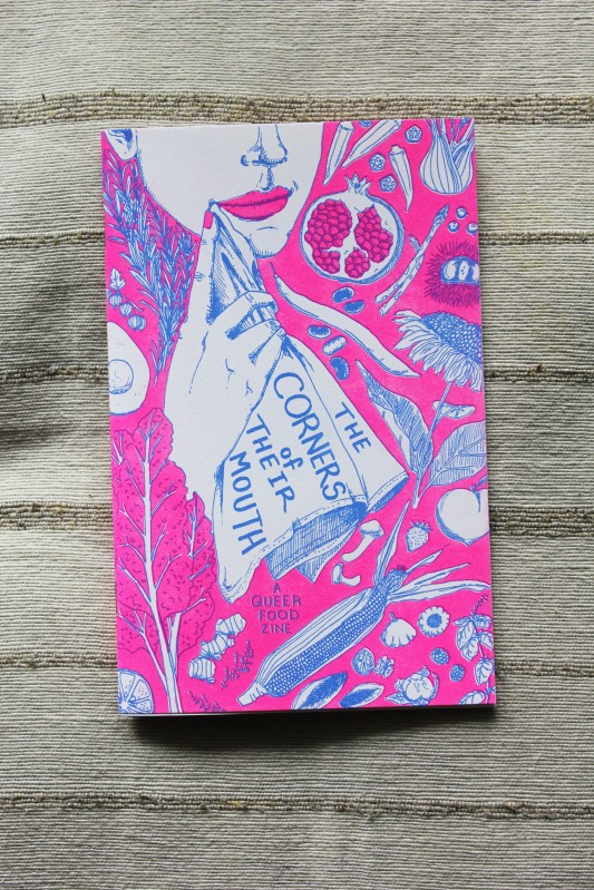 Cover and inner pages are risograph printed by Paper Press Punch.